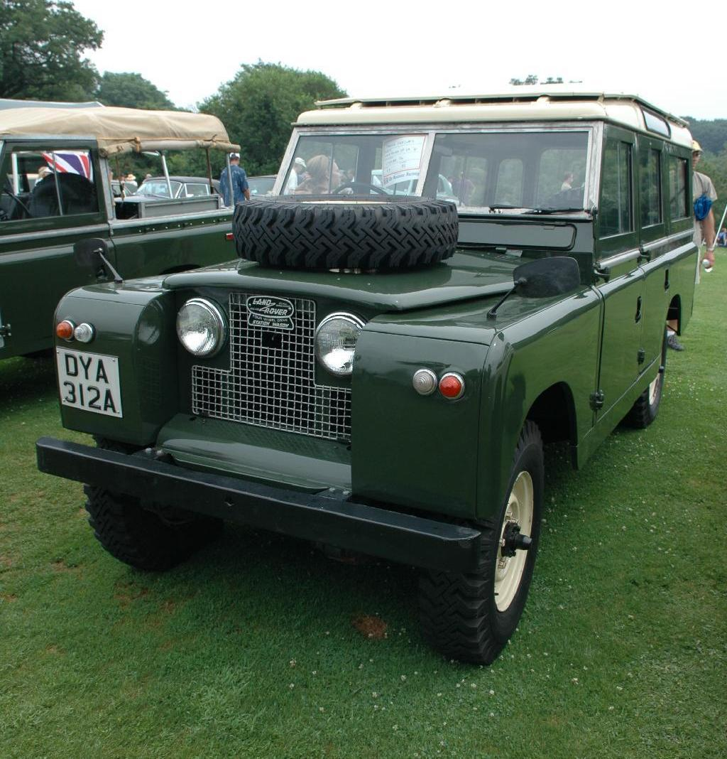 1961 Land Rover Series Ii  611092a2